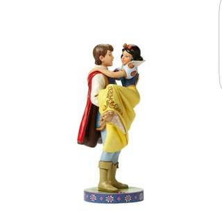 """Enesco Disney Traditions by Jim Shore Snow White with The Prince Stone Resin Figurine, 9.5"""""""