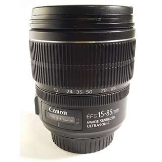 Canon EF-S 15-85mm f/3.5-5.6 IS USM (CL056)