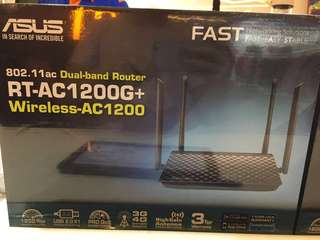 Ausu wireless router RT-AC1200G+
