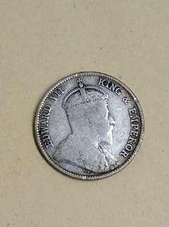 1899年5仙港幣 銀製品