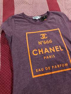 Chanel copy tshirt