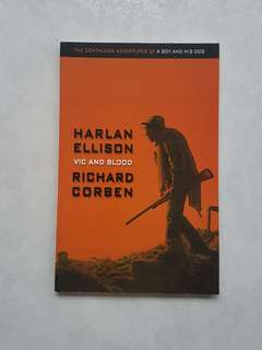 Harlan Ellison Vic and Blood TPB Rare Richard Corben Art