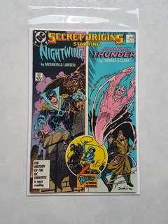 DC Comics Secret Origins 13 Near Mint Condition Nightwing