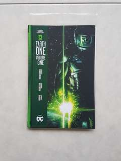 DC Comics Green Lantern Earth One Hardcover First Print