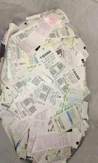🚚 1堆過期沒用的發票 請問有人需要收藏嗎?