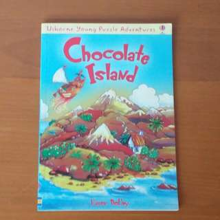 Chocolate Island Book, USBORNE Young Puzzle Adventures