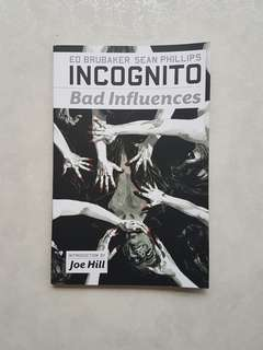 Marvel Icon Comics Incognito: Bad Influences TPB First Print