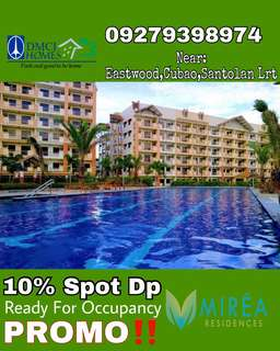2BR MIDRISE READY FOR OCCUPANCY CONDO FOR SALE 10% SPOT DP