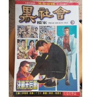 Hong Kong chinese Comic 香港漫画 古惑仔 黑社会檔案 Andy Lau