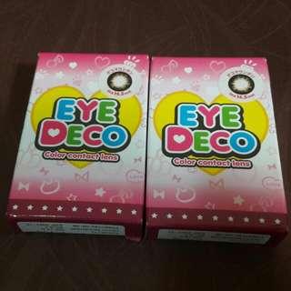 EYE DECO 有色隱形眼鏡 【1對月棄】 購自日本