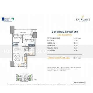 FAIRLANE RESIDENCES DMCI HOMES - 2 BR - 52.5 SQM- 62 SQM (6.7M-7.5M)  12 mins to BGC via Sta. Monica-Lawton bridge - For Family Use Investment  - Condo In Pasig kapitolyo - 3 BR- 81.5 SQM (8M-9.2 M) Condo Near TV 5 Media Center - Condo Near Brixton Place
