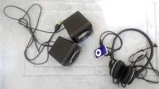 Headphones bundle
