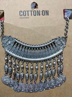 Cotton On Necklace