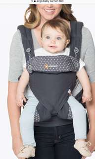 Ergobaby 4 Position 360 Carrier - Dusty Blue
