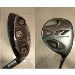 TaylorMade r7 Fairway Wood Golf 5 wood 18 Deg