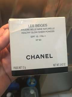 Chanel glow sheer powder