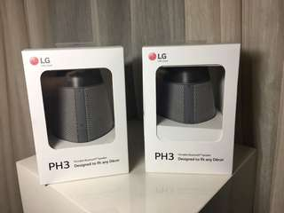 LG PH3 Bluetooth Speaker