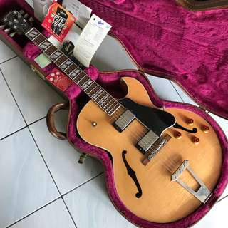 (DROP PRICE/ QUICK DEAL) USED 1997 GIBSON ES-175 FIGURED NATURAL