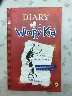 Diary of a Wimpy Kid Red