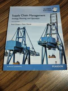 Supply Chain Management (Sixth Edition)