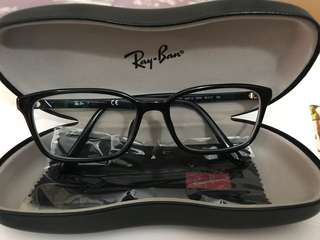 Ray-Ban 眼鏡防UV,每邊 350度