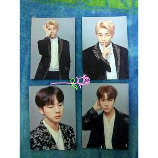 BTS FINAL CONCERT MINI PHOTOCARD
