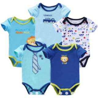 BORONG BORONG (5pcs in a pack) Baby Boy/Girls Carter's Romper