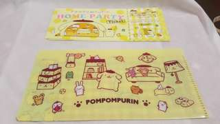 Pompompurin Ticket Holders 3's