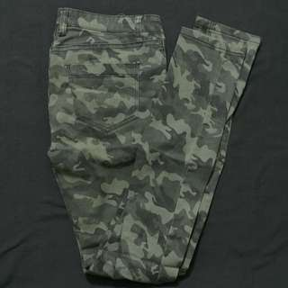 Cotton On Army Jeans
