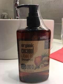 Organic coconut jasmine shampoo