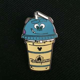 全新 迪士尼 怪獸大學 怪獸公司 毛毛 沙冰 思樂冰 徽章