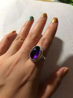 Amethyst Quartz 925silver Ring
