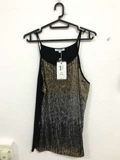 BNWT Valley girl sequin camisole top