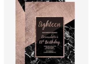 Customized birthday einvites