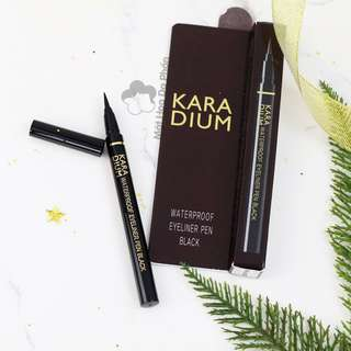 KARADIUM WATERPROOF EYELINER PEN BLACK