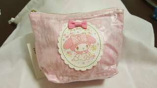 My Melody Soft Lace Print Pouch