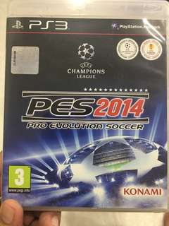 PS3 Game PES2014