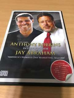 Anthony Robbins interview with Jay Abraham (CD)