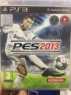 PS3 Games PES2013