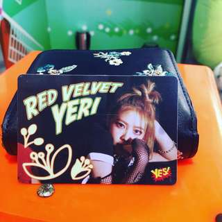 Red velvet yeri 夜光 yescard yes card yes卡