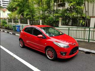Car Rental Mazda 2 for Rent 1.5L Hatchback (*WHATSAPP ME*)
