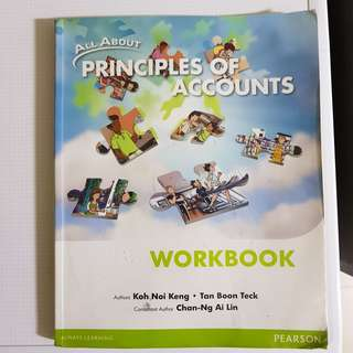 Principles Of Accounts Workbook