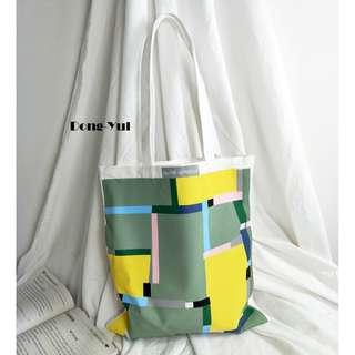 Dong-Yul Canvas Tote Bag