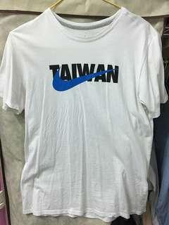 🚚 Nike Taiwan 白T