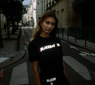 Places + Faces Reflective Tee