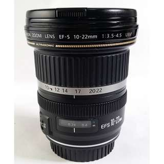 Canon EF-S 10-22mm f/3.5-4.5 USM (CL072)