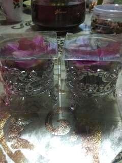 Glass Bunga Rampai !!Special Price!!