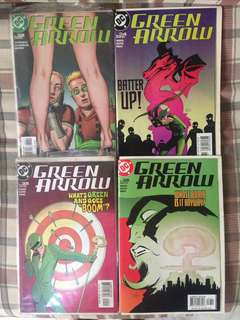Green Arrow comics set