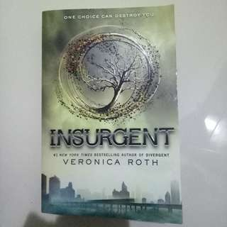 English Novel Insurgent by Veronica Roth