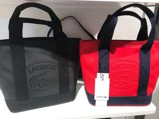 Lacoste Black eclipse bag (small)